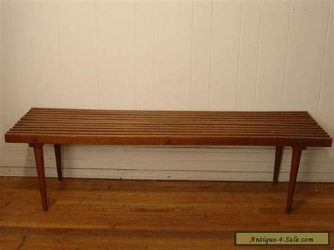 vintage bench for sale vintage 1950s slat bench cofee table mid century modern