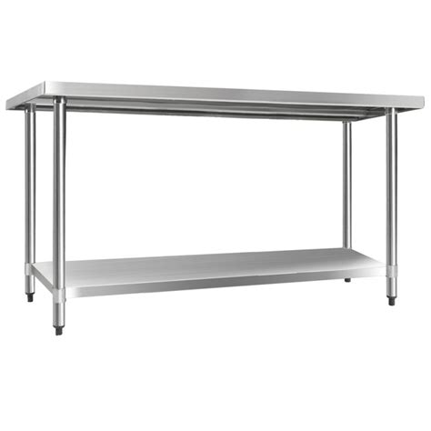 stainless kitchen bench stainless steel kitchen work bench table 1524mm buy