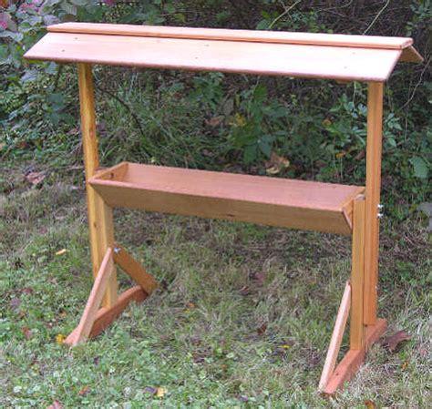 Build A Deer Feeder pdf diy how to build a wood deer feeder how to build wood porch steps diywoodplans