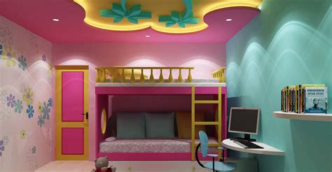 kids room false ceiling gypsum board drywall