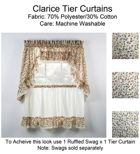 ruffled tier curtains clarice ruffled tier curtains www bestwindowtreatments com