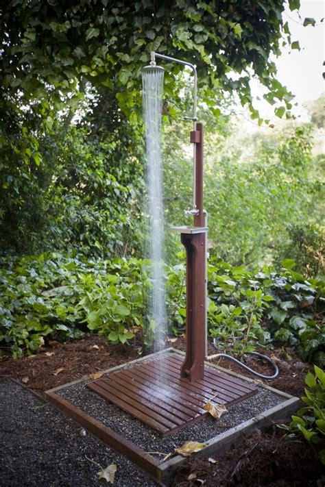 aussendusche garten outdoor dusche gartendusche f 252 r einen noch tolleren sommer