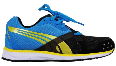 buy sports shoes black blue yellow 6 11 years
