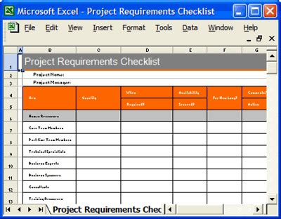 best photos of project requirements exles project