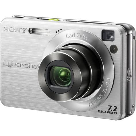 Kamera Sony 7 2 Megapixel Sony Dsc W120 Cyber 174 7 2 Megapixel 4x Optical Zoom