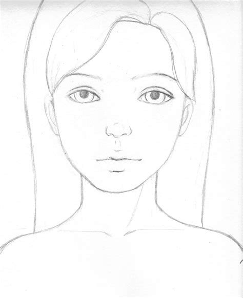 simple pencil drawing hd download easy face drawings in pencil for kids easy girl drawing