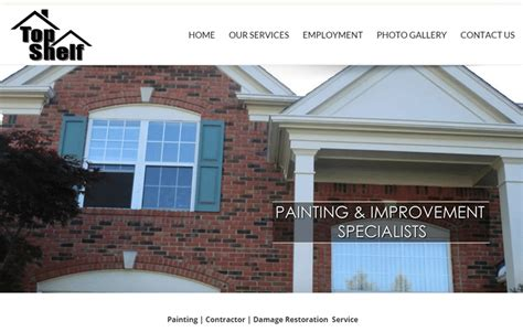 top shelf painting and home improvement specialists