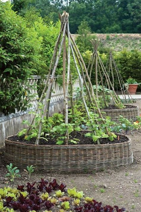 beautiful raised garden beds woven raised beds beautiful my one day garden