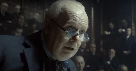darkest hour trailer 2017 gary oldman as churchill in darkest hour trailer launch
