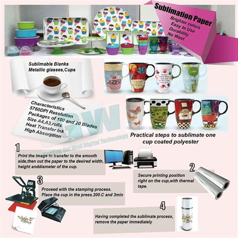 How To Make Sublimation Paper - heat transfer paper vs sublimation feiyue paper