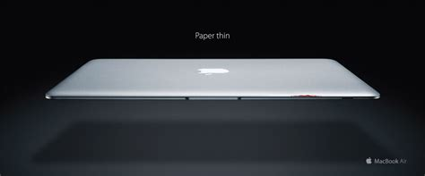 How To Make Thin Paper - apple macbook air paper thin creative criminals