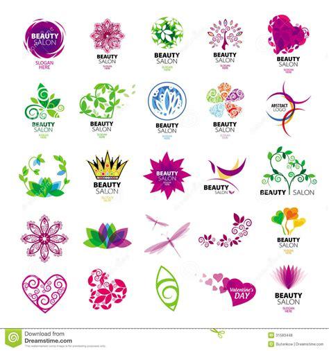 imagenes tipo vector logotipos de la colecci 243 n para los salones de belleza