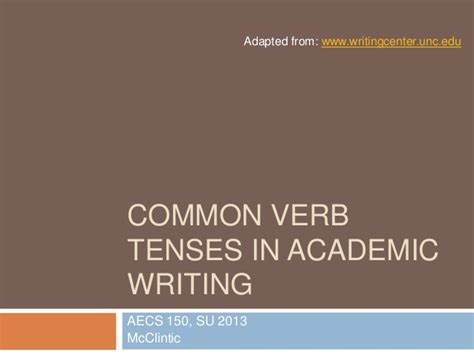apa format verb tense what verb tense to use in an essay writefiction581 web