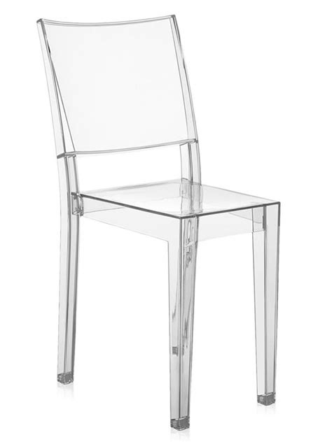 sedia kartell trasparente la chaise kartell design en polycarbonate