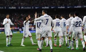 Real Madrid Copa Real Madrid Entertain Sevilla Atletico