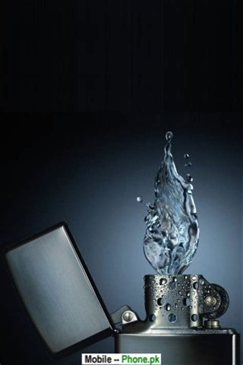 water candle wallpapers mobile pics
