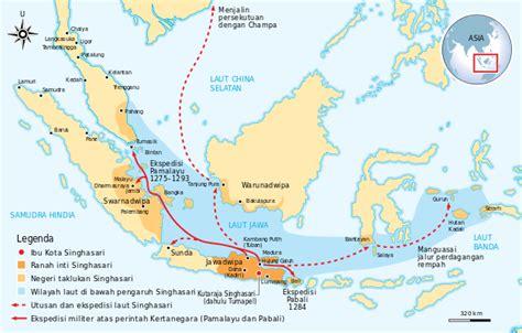 Nusantara Dan Alur Laut Kepulauan Indonesia Kresno Buntoro peta kerajaan bercorak hindu budha dan kekuasaannya