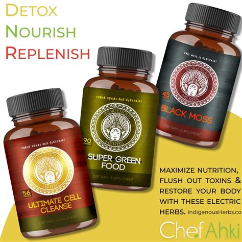 Modern Caribbean Detox by Delicious Indigenous Detox Kit Chef Ahki Chef