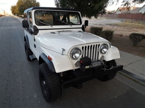 Cj Jeep Years 1983 Jeep Cj7 Same Owner Past 25 Years Restored Ready To
