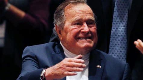 george w bush president 41 ex president bush to spend fourth night in hospital aide