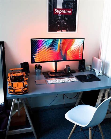 Meja Komputer Untuk Lab 19 desain dan model meja komputer gaming lagi ngetrend