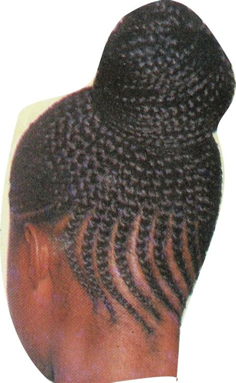 african braided bun hairstyles hairstyle getty bun updo cornrow and braid buns on pinterest