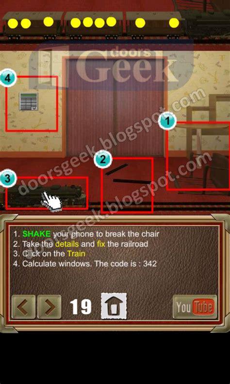 doors of revenge level 15 solution 100 doors of revenge level 19 doors geek