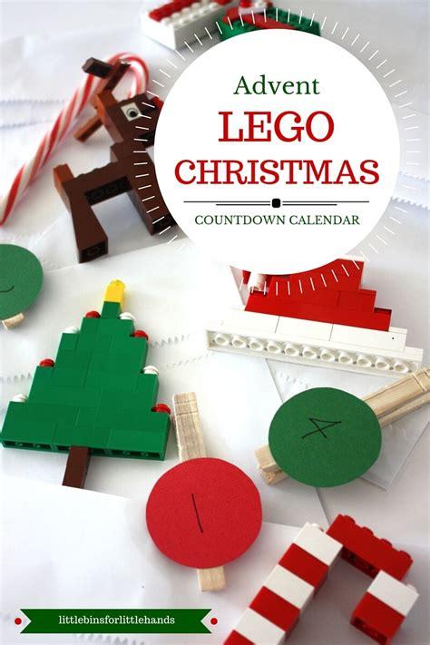 how to make a lego advent calendar lego advent calendar 25 days countdown