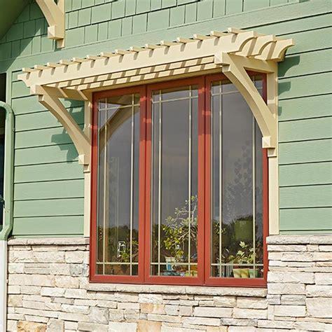 window trellis design window or door arbor woodworking plan from wood magazine