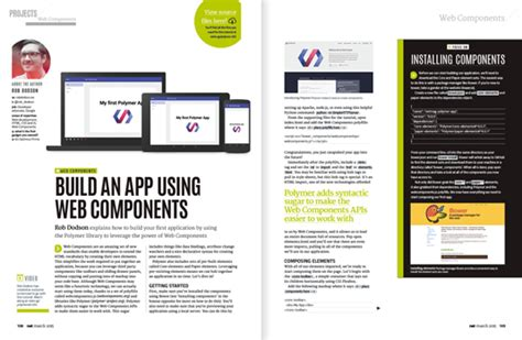 tutorial web components build the perfect website with the new issue of net