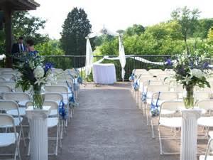 Outside Wedding Ceremony Decorations Wedding by Outdoor Wedding Ceremonies Bartletthillsweddingblog