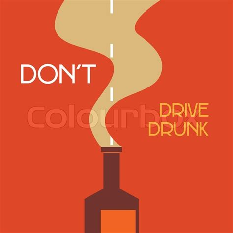 Betrunken Auto Fahren by Nicht Betrunken Auto Fahren Vektorgrafik Colourbox