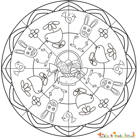 Coloriage Mandala Cycle 2