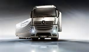 Mercedes Truck And Mercedes Aero Truck Concept Garage Car