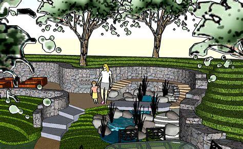 Landscape Design Using Sketchup Image Gallery Sketchup Landscape