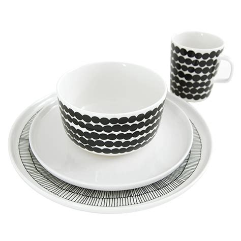 marimekko dinnerware set black white most popular items