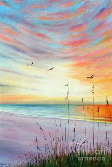 paint nite valencia st pete sunset painting by gabriela valencia