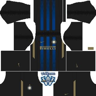 inter milan 2018/19 dream league soccer and fts kits