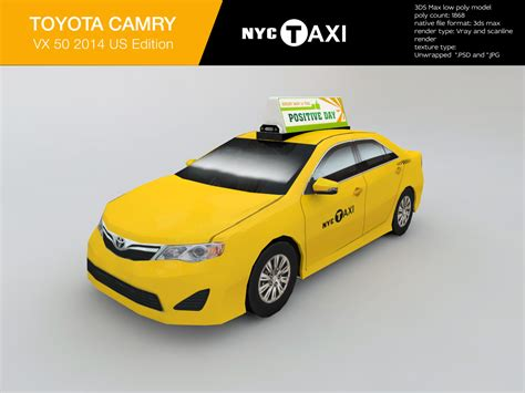 New York City Toyota New York City Taxi Toyota Camry 2013 By Art Good Format