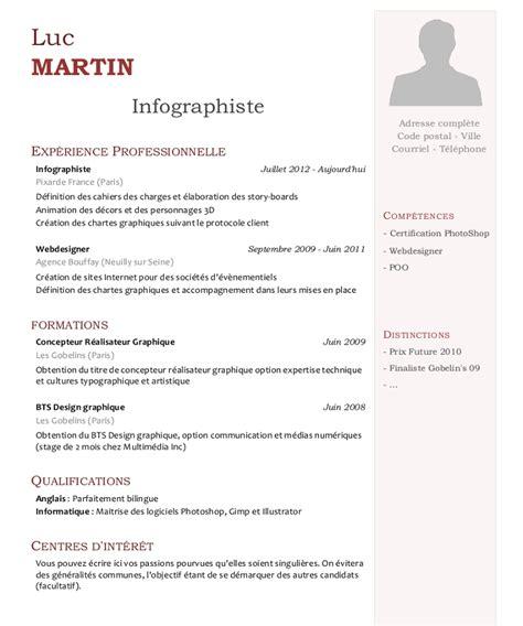 Exemple De Lettre De Motivation Infographiste lettre de motivation graphiste ia66 montrealeast