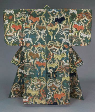 Bluma Kimono White Brown 213 best images about noh costume on theater gold leaf and kimonos