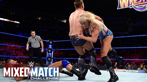 charlotte flair figure 8 charlotte flair executes a spear and figure eight on miz