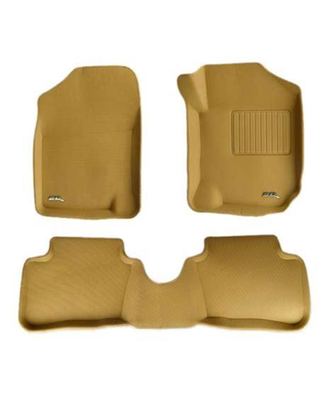 3d Foot Mat by Letsmodify 3d Car Foot Mats Hyundai I20 Beige Buy