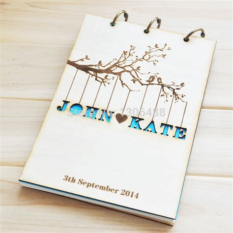 Wedding Guestbook 6 aliexpress buy personalized wedding guest book