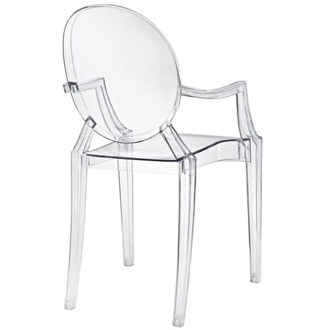 clear ghost chair throne chair brickell collection modern furniture store