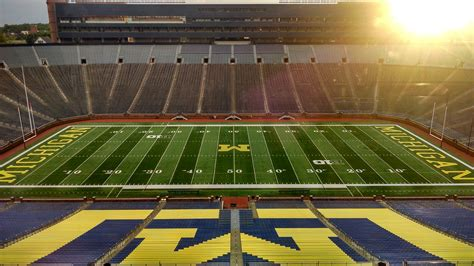 the big house capacity its helps improve cell coverage at the big house michigan it news