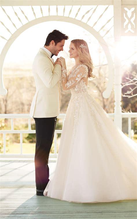 wedding dresses  sleeves long sleeve wedding dress