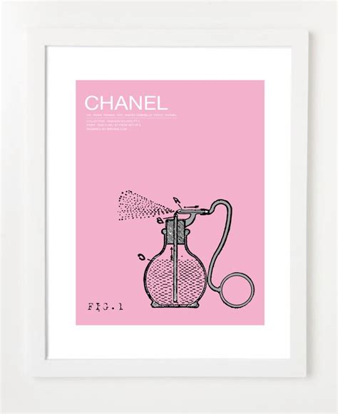 printable art etsy chanel art print via etsy cc becomes chanel pinterest