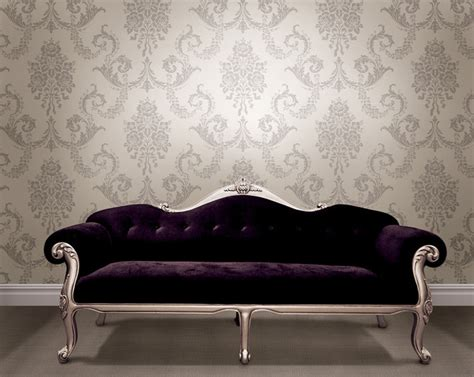 40 living room decorating ideas damask wallpaper damasks and floral damask wallpaper traditional living room