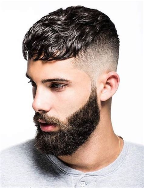 Hairstyles For 2016 Hair by Stylish S Hairstyle With Beard 2016 Hairzstyle